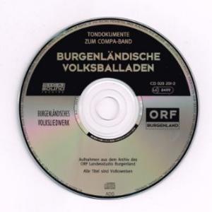Burgenlaendische Volksballaden