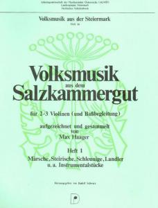 Volksmusik aus dem Salzkammergut Heft 1
